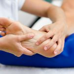Medical Massage At The Foot In A Physiotherapy Center 1139 1146