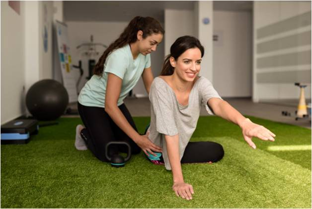 Physiotherapy exercises for women